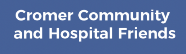 Charity Donation CROMER COMMUNITY AND HOSPITAL FRIENDS