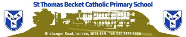 Charity Donation St Thomas Becket Catholic Primary School