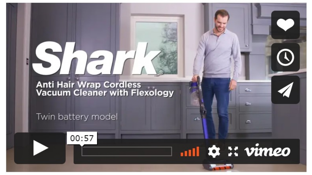 Win A shark cordless hoover
